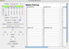 v1: Two Pages per Week (deprecated) | D*I*Y Planner