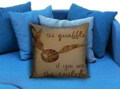 Harry Potter Quote Pillow Case #pillowcase #pillow #cover #pillowcover #printed #modernpillowcase #decorative #throwpillowcase