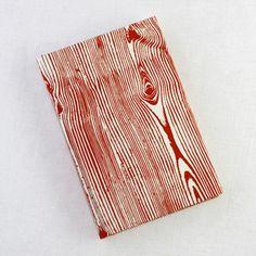 woodgrain journal by rag and bone bindery