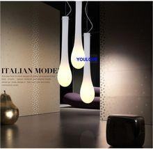 2 years warranty Italian Modern pendant light water drop light LED lamp restaurant pendant lamp bar kitchen dining room light(China (Mainland))