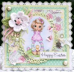 A Sprinkling of Glitter: Little Murray - Addicted To Stamps DT Card