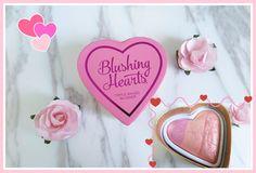 I HEART MAKEUP | Blushing Hearts.
