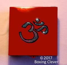 Ohm Symbol Jewellery Box Wooden Engraved by TonysBoxingClever