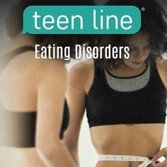 A brochure about teens, their self-image and eating disorders.