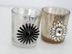 Glam up candle holders