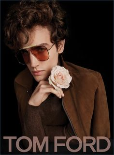 Federico Novello fronts Tom Ford's spring-summer 2017 advertising campaign.