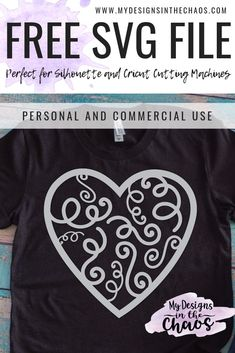These free heart SVG cutting files are great for Valentine's Day, weddings, and home decor. There are a ton of combinations that you can create with your Silhouette or Cricut machines! Cricut Vinyl, Svg Files For Cricut, Cricut Craft, Cricut Ideas, Freebies, Valentines Day Shirts, Free Svg Cut Files, Silhouette Cameo Projects, Cricut Creations