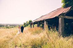 Summer Wedding Walk Photos by mckenzie brown photography