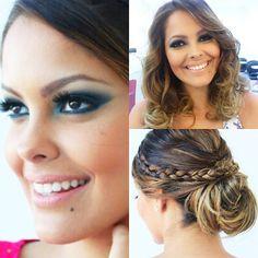 """@mulher_cheirosa's photo: """"A blogueira @cris_moreira deu dicas incríveis no Blog Cris Moreira de make e cabelo. Produção feita por @vandinhacm! #mulhercheirosa #makeup #blogcm #beauty"""""""