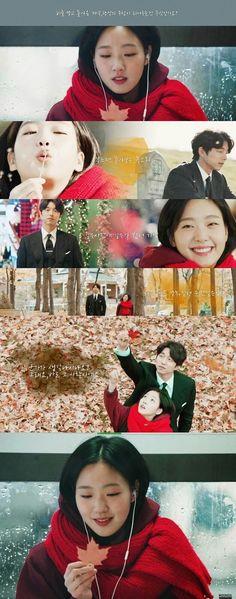 GOBLIN : GongYoo - KimGoEun ... i like her smile :3