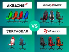 Big comparison of best gaming chair of 2017! AKRacing vs DXRacer vs Arozzi vs Vertagear! If you are looking for the best chair for gaming and you like to play a lot this guide will be perfect for you! The biggest brands of gaming chairs. Check on my blog: https://www.workwithpleasure.com/akracing-dxracer-vertagear-arozzi/