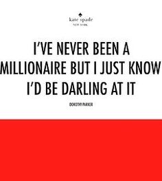 wise words monogrammed by Kate spade quoted by Dorothy ...