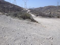 Road to the Battery of Sierra Gorda