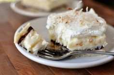 Chocolate and Coconut Cream Pie Bars   Mel's Kitchen Cafe