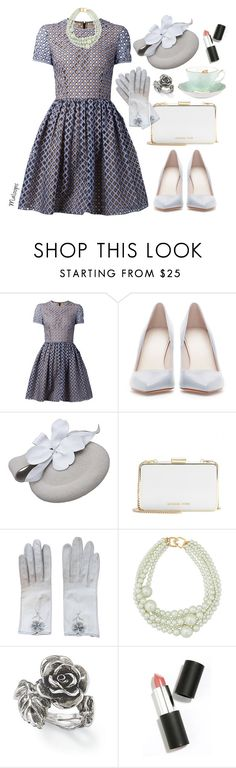 """""""~I remember it now, it takes me back to when it all first started~"""" by maloops ❤ liked on Polyvore featuring Michael Kors, Zara, MICHAEL Michael Kors, Hermès, Kenneth Jay Lane, Natures Jewelry, Sigma Beauty, vintage, women's clothing and women"""
