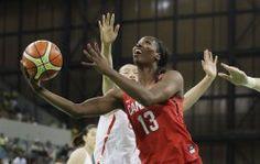L'équipe féminine canadienne de basketball a remporté son premier match du tournoi olympique dans le groupe B face aux Chinoises...