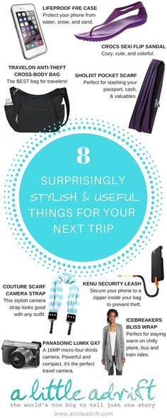 8 Surprisingly Useful & Stylish Travel Products for Your Next Trip