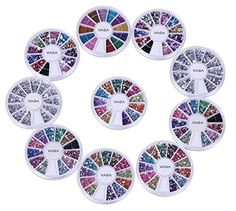 10 Wheels Premium Manicure Nail Art Decorations Total of 15000 Gems By Cheeky® Cheeky http://www.amazon.com/dp/B005IPJXVY/ref=cm_sw_r_pi_dp_phk4vb1W6KQ4H