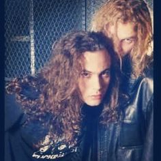 Mike Starr and Layne Staley - Photo by mikestarrforever on Instagram