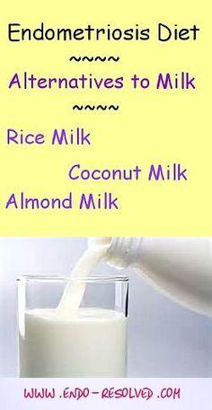 Alternative ingredients - milk, sugar, flour for the #endometriosis #diet