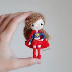 My crochet doll, SuperGirl