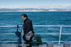 21 Feb, 2016 Naoto Kan, Prime Minister of Japan at the time of the Fukushima Daiichi nuclear accident starting 11.03.2011, was onboard the Rainbow Warrior, as it sailed passed the destroyed nuclear plant. Greenpeace launched an underwater investigation into the marine impacts of radioactive contamination. Kan declared that it is not over, including major threats from contaminated water from the site; restated his opposition to nuclear power in Japan and called for renewable based energy…