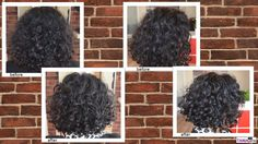 loads of curls fell to the floor with this beautiful re-shaping