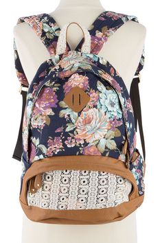 Cute Lace Floral Sweet Bow Backpacks only $35.9 | School backpacks ...