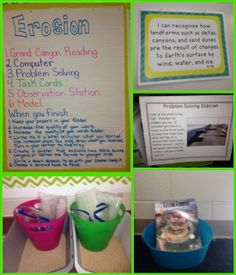 The Science Penguin's Science Plans {Erosion}