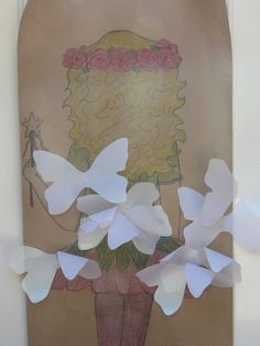 Pin the wings on the fairy!! OMG! How perfect for a little girls b-day! @Linsey White