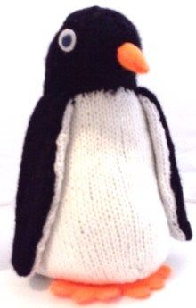 Knitted Penguin - Free Pattern