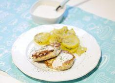Hamburguesas de pollo con salsa de yogur para #Mycook http://www.mycook.es/cocina/receta/hamburguesas-de-pollo-con-salsa-de-yogur