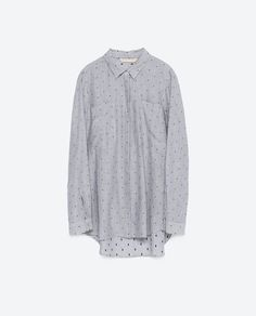 OVERSIZE SHIRT from Zara