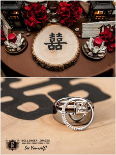 rustic Chinese wedding