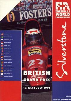 1991 GP de Gran Bretaña en Silverstone