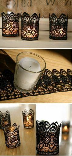 1001+ Inspirierende Ideen + Einige Ausführliche Anleitungen, Wie Sie  Teelichter Basteln