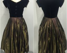 50s Purple Tulle Emma Domb Party Dress 30 waist by CompanyV