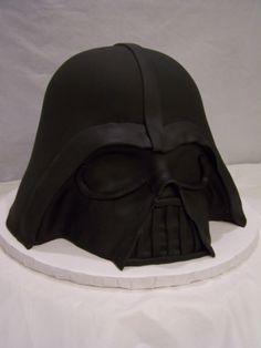 Darth Vader cake | Josh's grooms men's cake, maybe?