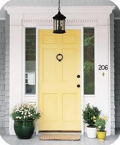Front door eye candy (plus link to House Beautiful's best front door paint chips)