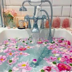 This looks heavenly! Hot baths with Epsom salts and a few drops of lavender essential oils are a delightful way to soothe sore muscles, melt away stress, unwind before bed, and practice self care. If you don't have a bathtub, a steamy shower with a salt scrub would work, too. I whole-heartedly recommend them.