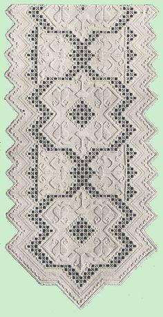 Heirloom Crochet - Vintage Hardanger- Priscilla Hardanger Book