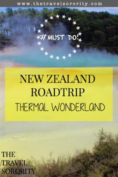 The Travel Sorority visits the Wai-O-Tapy thermal wonderland in Rotorua, New Zealand.