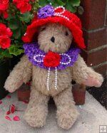 red hats lady, thank god purple is loved!  Go red hats and lupus