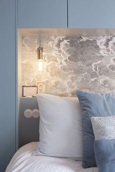 home decor bedroom couples headboards Room Design Bedroom, Apartment Bedroom Decor, Small Room Bedroom, Bedroom Styles, Apartment Ideas, Bedroom Decor For Couples, Couple Bedroom, Bedroom Built In Wardrobe, Bed Design