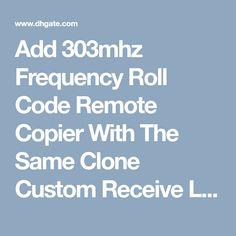 79 Best rolling code auto door opener remote control