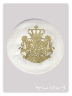 P11HA944 A/P Crown Printed Beret