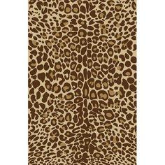 Leopard Area Rugs Walmart