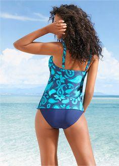 Tankini (2-részes szett) kék/türkiz • 6999.0 Ft • bonprix Swimsuits, Swimwear, Tankini, One Piece, Style, Fashion, Bathing Suits, Swag, Moda