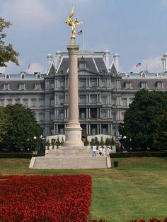 US Army memorial near the White House, Washington, DC