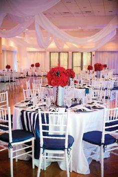 Anchor Themed Wedding centerpieces | How to Plan a Nautical Theme Wedding